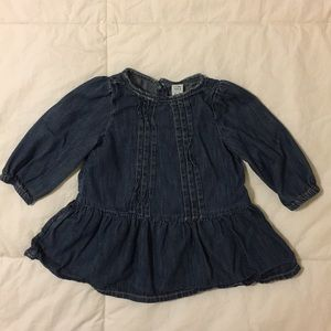 COPY - 💙 Baby Gap Denim Dress, 3-6 months